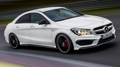 Mercedes-Benz CLA45 AMG Revealed Ahead Of New York Auto Show
