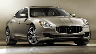 2014 Maserati Quattroporte Detailed: Turbo V6 And V8 Engines On Offer