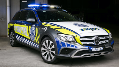 High-powered Mercedes-Benz joins Victoria Police highway patrol fleet