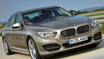 2010 BMW 5-Series Details Surface