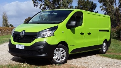 Renault Trafic Review 2015: dCi 140 - A Better Box And Surprisingly Perky