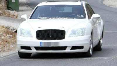 Bentley Continental Flying Spur Spied
