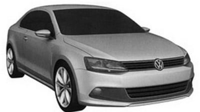 Volkswagen Jetta Coupe Patent Images Uncovered