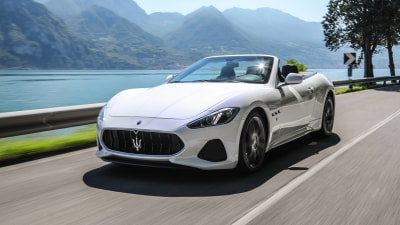 Updated Maserati coupe and convertible revealed