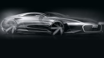 Audi 'Prologue' Coupe Concept Teased For LA: A9 Coming?
