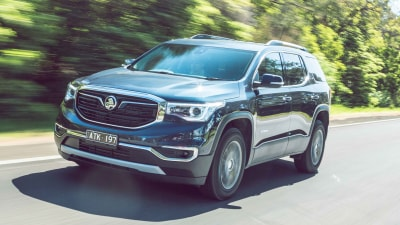 Holden Acadia LTZ 2018 new car review