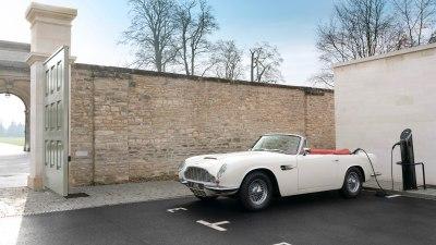 Aston Martin to electrify classic cars