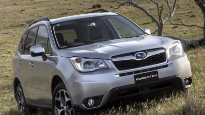 Forester And ASX Survive Tough 'Small Overlap' Crash Test