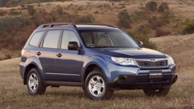 Subaru Announces 2009 Forester X Limited Edition