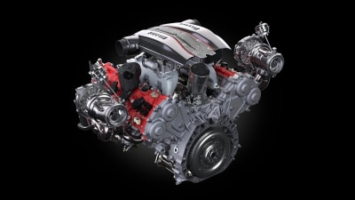 Ferrari awarded best engine of the year