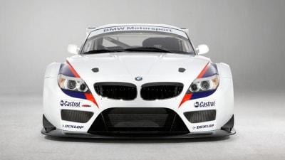 BMW Z4 GT3 Laps The Nurburgring: Video