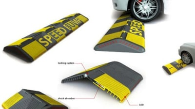 Speed Bump Concept Gives Slow Drivers Flat Bumps