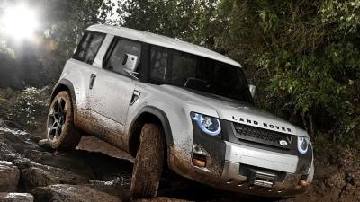 Land Rover DC100 Concept Previews Defender Future
