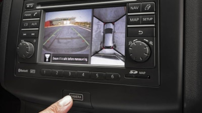 Nissan Dualis, X-Trail Pick Up Around-View Parking Monitor
