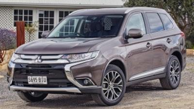 Updated Mitsubishi Outlander revealed