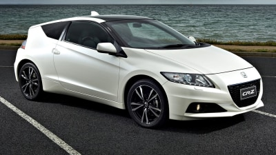 Honda CR-Z Washes Out Of Australian Market