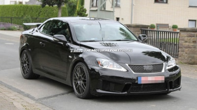 Lexus IS F Convertible Spied - Upskirted... Or Just A One-off Ruse?
