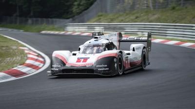 Porsche smashes Nurburgring lap record