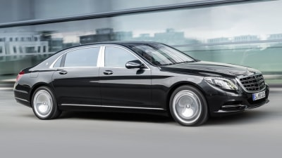 Mercedes-Maybach S-Class Limo Revealed: Rolls, Bentley On Notice