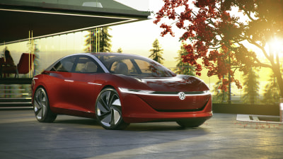 Volkswagen I.D. Vizzion revealed