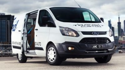 2017 Ford Transit Custom new car review