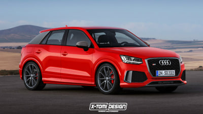 Audi Q2 RS To Sit Beneath RS Q3 - With 224kW