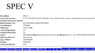 "Nissan Trademarks ""SpecV"" In USA, GT-R Halo Car Heading Stateside?"