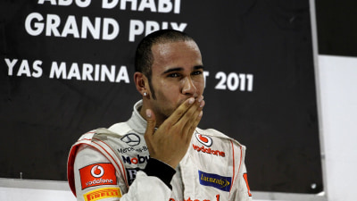 F1: Hamilton Wins At Abu Dhabi, Button Still Second In 2011 Title