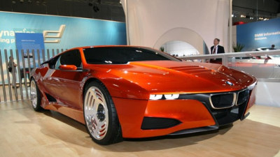 BMW Sustainable Sports Car Concept To Debut At 2009 Frankfurt Motor Show
