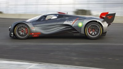 Mazda Furai at the track video