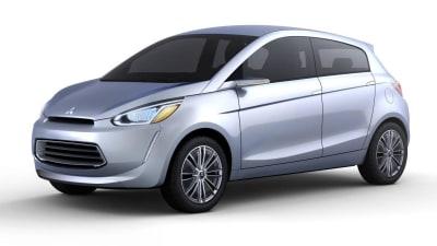 Mitsubishi Previews New Global Small Car