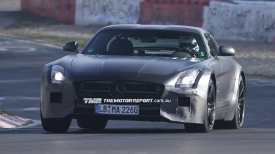 Mercedes-Benz SLS AMG Black Series Spied Testing
