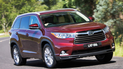 2014 Toyota Kluger: Price And Features For Australia