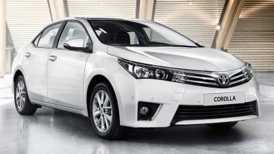 2014 Toyota Corolla Sedan Revealed For Australia, On Sale Next Year