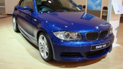 BMW 135i at the 2008 Melbourne Motor Show