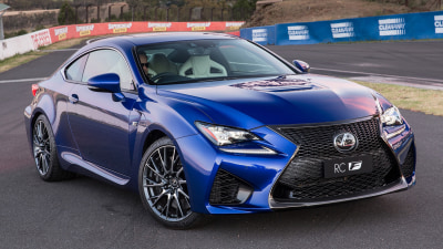Lexus RCF: Price And Features For Australia