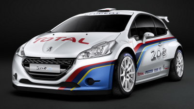Peugeot 208 R5 Rally Car Revealed