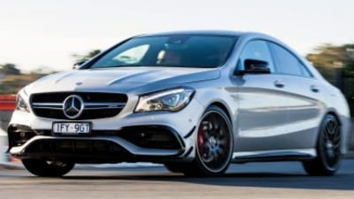 Mercedes-AMG CLA45 Quick Spin review