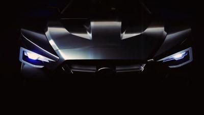 Subaru Viziv GT Teased For Vision Gran Turismo Game: Video