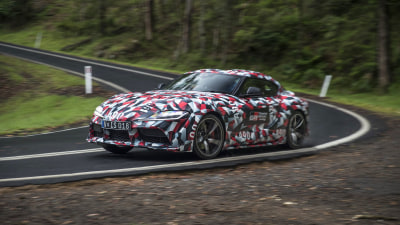 Toyota Supra heads to Australia for fine-tuning