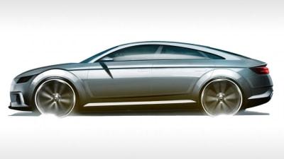 Audi TT Sportback Artwork: Four-door Coupe On The Way?