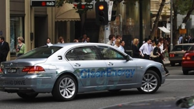 BMW Takes Hydrogen 7 on Cross-America Road Trip