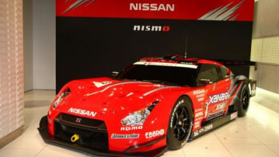 Nissan R35 GT-R scores first competition victory in Super GT