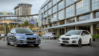 Subaru Levorg range review