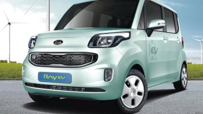 Kia Ray Electric Vehicle Revealed, Australia Off The Cards