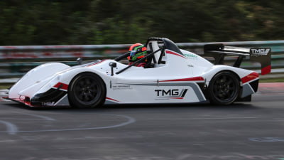 Toyota Smashes Its Own Electric Car 'Ring Record With TMG P002 Prototype