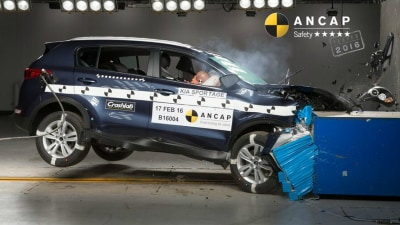 ANCAP 5-Star Safety Ratings For Kia Sportage | Holden Spark | Skoda Superb | Jaguar XF