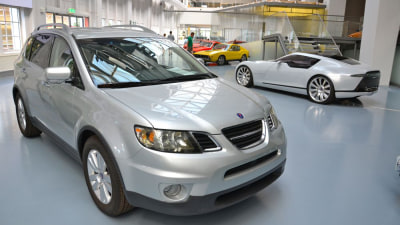 Saab 'Reveals' Early 9-6 SUV Concept As 9-6X Project Begins