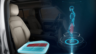 New Jaguar Land Rover shape-shifting seat mimics walking