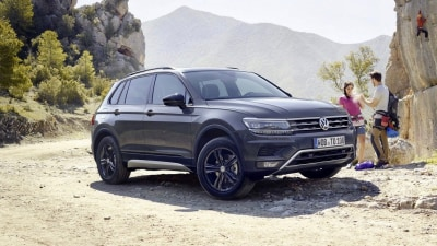 Volkswagen shows-off Tiguan Offroad